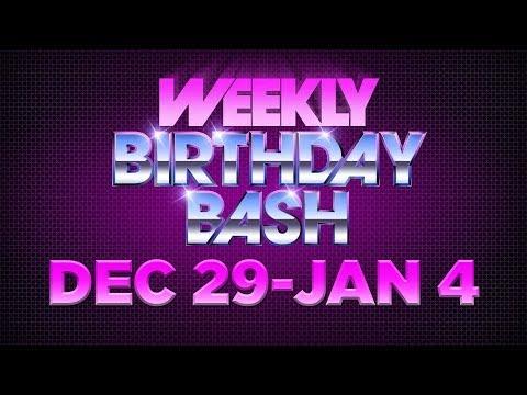 Celebrity Actor Birthdays - December 29 - January 4, 2014 HD