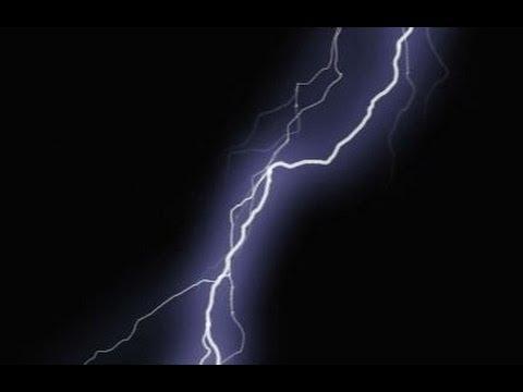Lightning Strike - Green Screen Animation - YouTube