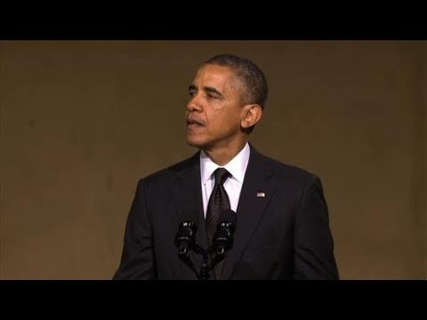 Obama Speaks About Heroic 'Man in the Red Bandana'