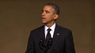 Obama Speaks About Heroic 'Man in the Red Bandana'  5/14/14 (9/11)