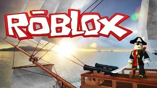 WE ARE SAILING IN ROBLOX? BEING PIRATES?!!!!