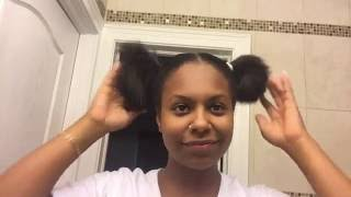 DIY Split Ends Hair Trim (for Natural Hair)
