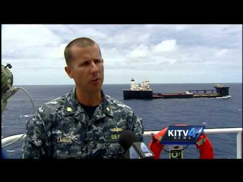 Military shows revolutionary seabasing strategy off Oahu coast