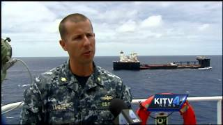 Military shows revolutionary seabasing strategy off Oahu coast