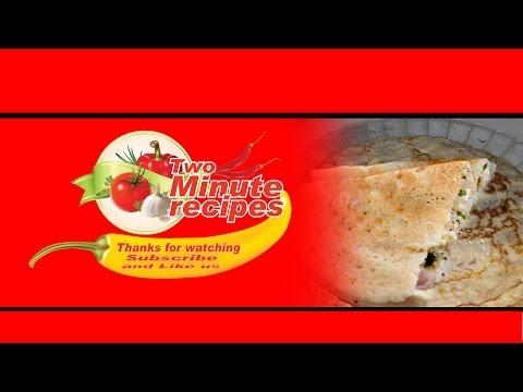 How to make Paneer Chilla Recipe in two minute - पनीर चील्ला दो मिनटमें कैसे बनाये ?