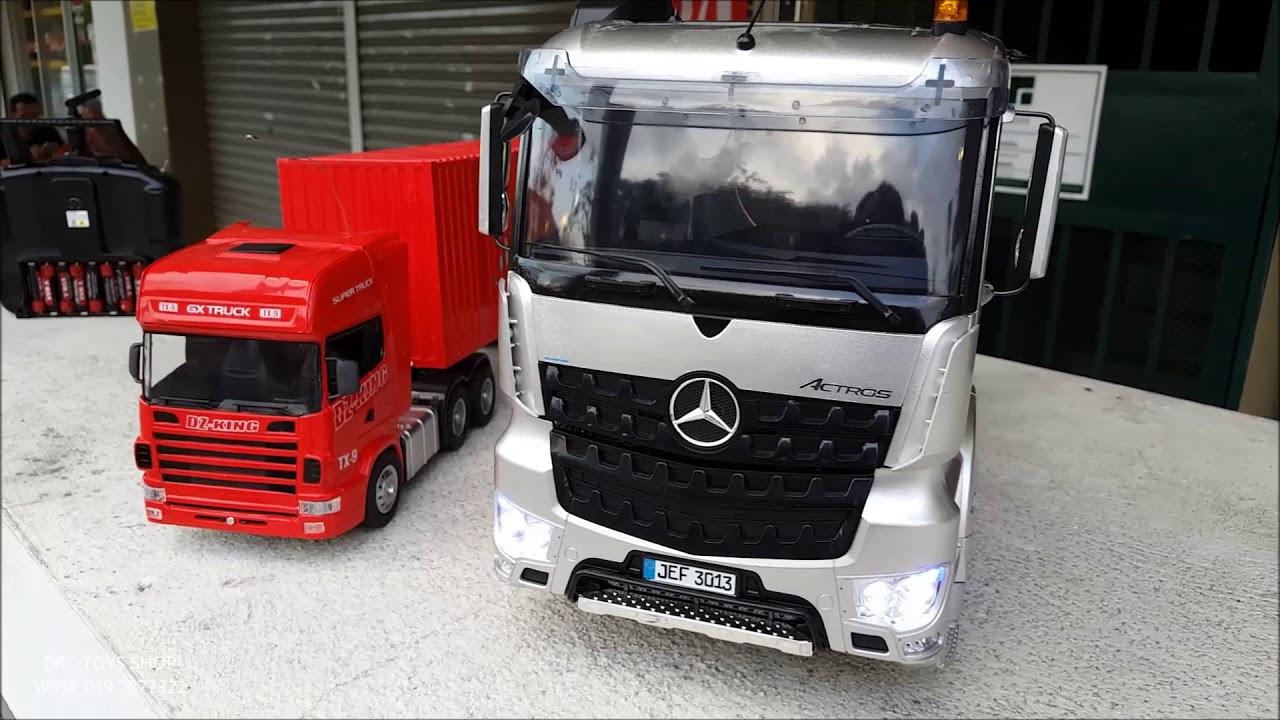 Grade Hobby Mercedes 1 14 And Grade Toys Scania 1 18 Youtube