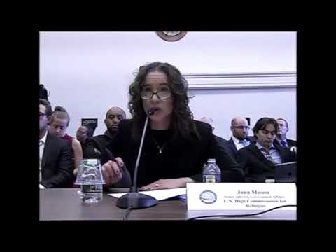 US Congress Human Rights Commission hearing about Eritrea's Refugee Crises