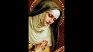 St. Mary Magdalene of Pazzi visits Purgatory