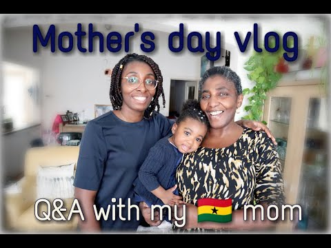 Mothers Day Vlog    Q&A With My Mom    What She Really Thinks About Me
