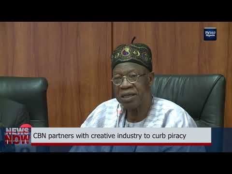 CBN partners with creative industry to curb piracy (Nigerian News)