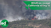 Wildfire Chars California Trailer Park In Blink Of An Eye