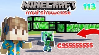 CREEPER PALING NGAKAK DI MINECRAFT - MINECRAFT MOD SHOWCASE INDONESIA #113