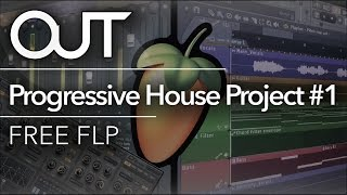 !! NCS !! Style Progressive House Project #1 - FREE FLP