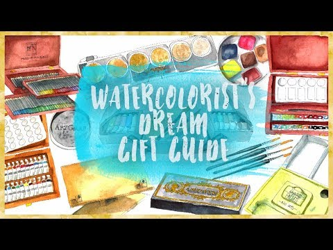 A Watercolorist's Dream Gift Guide | Europe & UK Edition