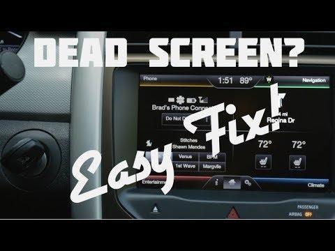 Dead / Blank / Black Screen Repair - 2011 / 2012 Ford Edge
