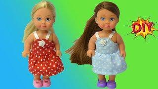 Как сшить САРАФАН для куклы Эви DIY мастер-класс