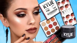 USING KYLIE COSMETICS FOR THE FIRST TIME - First Impressions