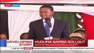 HUDUMA NAMBA ROLLOUT: Governor Mutua on Huduma Namba registration