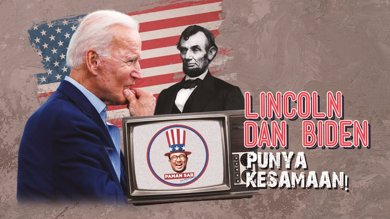 PAMAN SAB (Paman Sab) #20 Joe Biden Bacakan Hadist Nabi Muhammad, Lincoln Punya AlQuran