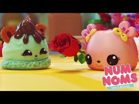 Num Noms - Valentine's Day Special | Num Noms Snackables Compilation | Cartoons for Children