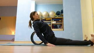 Йогатерапия: тракции с йога-колесом | Tractions with yoga-wheel