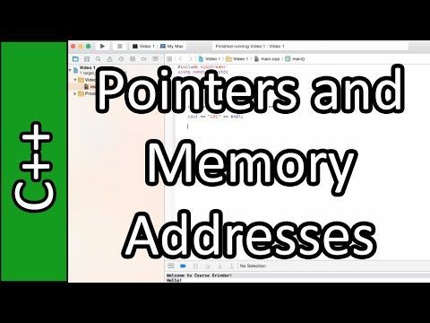 Pointers and Memory Addresses - C++ Programming Tutorial #31 (PC / Mac 2015)