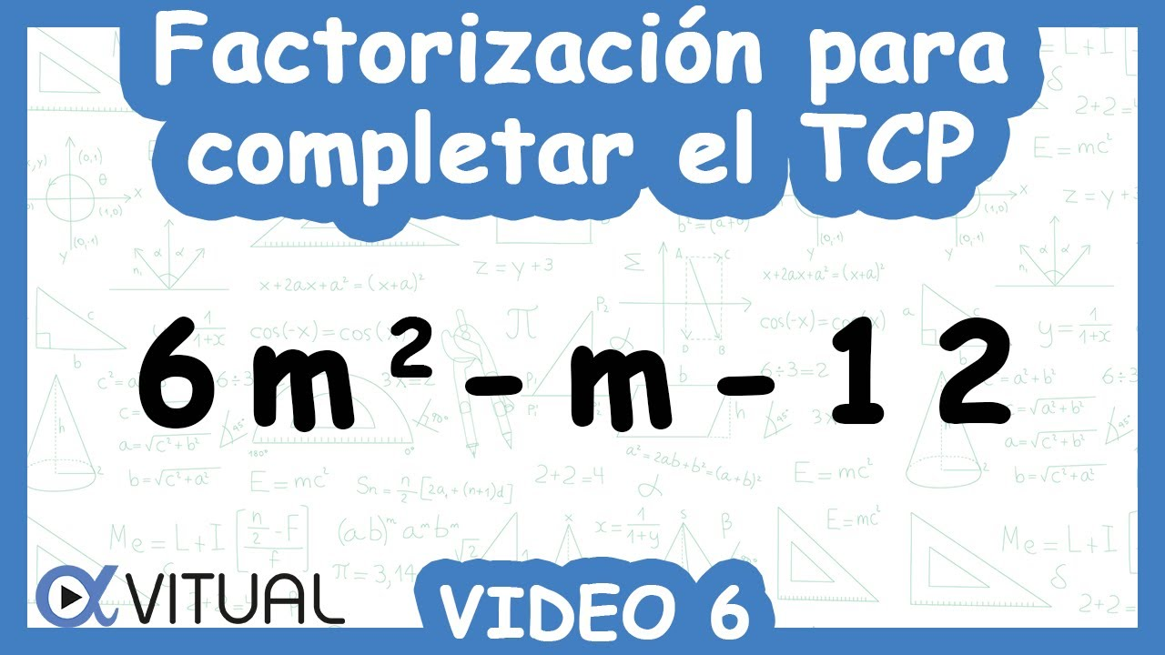 Único Hoja De Cálculo De La Factorización Trinomio Elaboración ...