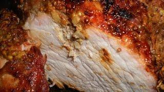 Свиной окорок с имбирем  Пошаговые рецепты