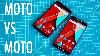 Moto X Pure Edition vs Nexus 6 | Pocketnow