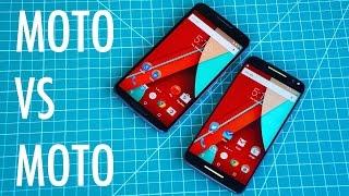 Moto X Pure Edition vs Nexus 6