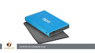 Bipra 80Gb 80 Gb 2.5 Inch External Hard Drive Portable Usb 2.0 - Blue - Ntfs | Review/Test