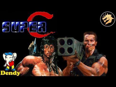 Super Contra / Супер Контра | Dendy 8-bit / NES | Прохождение