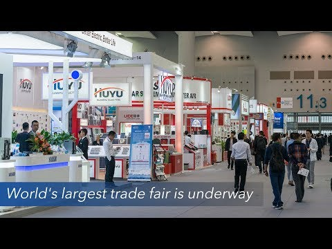 Live: World's largest trade fair is underway第123届广交会必看亮点