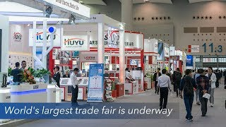 Live: World's largest trade fair is underway第123届广交会必看亮点