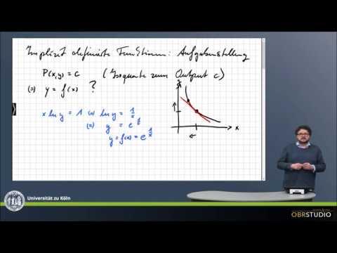 0212 Implizit Definierte Funktionen: Problemstellung