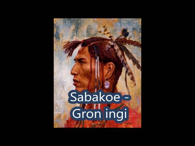 Sabakoe gron ingi