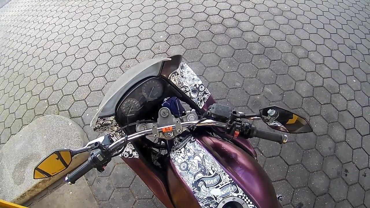Motorrad Tanken