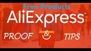 Free products Proof on Aliexpress || Tips to get free products