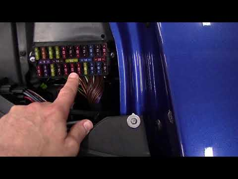 Lotus Elise Headlight Troubleshooting Part 1: Check Fuses