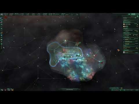 [2] The First Invasion - Stellaris: Necroids Modded Gameplay w/ Wolfdemon |