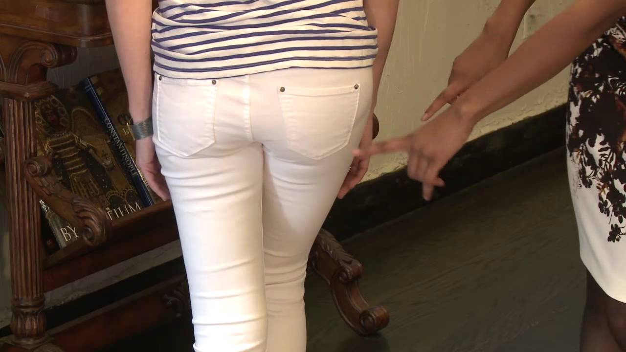 What Not to Wear Under White Pants - YouTube