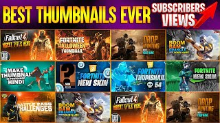 Best Free Thumbnail Templates Ever | Increase Your Views for Free
