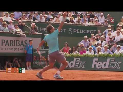 Rafael Nadal vs Novak Djokovic Final Roland Garros 2014 Highlights 1080p
