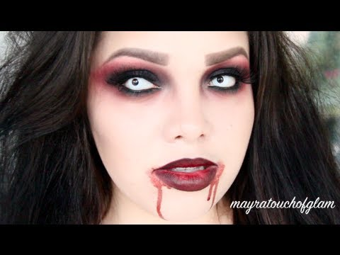 Vampire Makeup Tutorial - YouTube