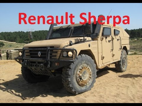 renault sherpa в полицейском варианте