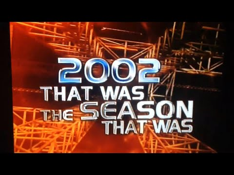 VHS opening AFL that was the season that was 2002 VHS