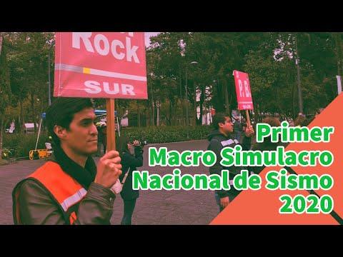 Primer Macro Simulacro Nacional de 2020