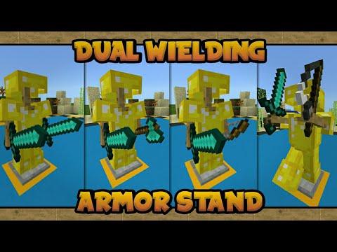 CARA DUAL WIELDING ARMOR STAND/ITEM APA SAJA - MINECRAFT 1.2