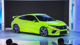 Honda Civic Concept 2015 Videos