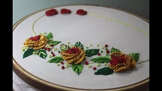 Hand Embroidery Designs | Brazilian embroidery | Stitch and Flower-172